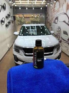 Car dry clean,polishing job