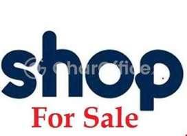 shop for sale in main market (halwai hatta)
