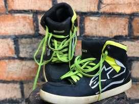 Alpinestar Shoes Stadium | Black Yellow | Hitam Kuning