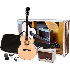 Epiphone PR-4E Acoustic/Electric Player Pack, EU 240V