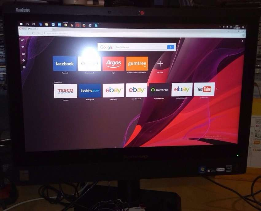 All In One Lenovo ThinkCentre M93z 23 Full HD Touchscreen i3 4th Gen 0