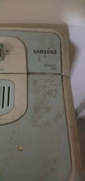 Samsung semiautimatic washing machine