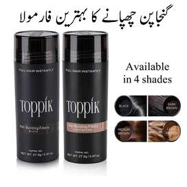 Strove Over with Toppik Hair Cubed Fibers · Hair Loss Vitamins