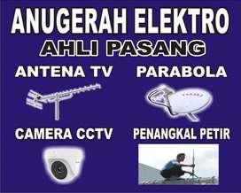 Menerima Pasang Sinyal Antena Tv Dan Pararel
