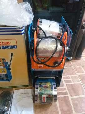 Sealing cup press