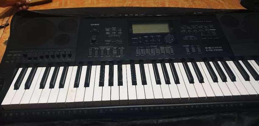 Keyboard casio ctk 7200 0
