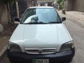 Suzuki cultus for rent and for pick and drop service