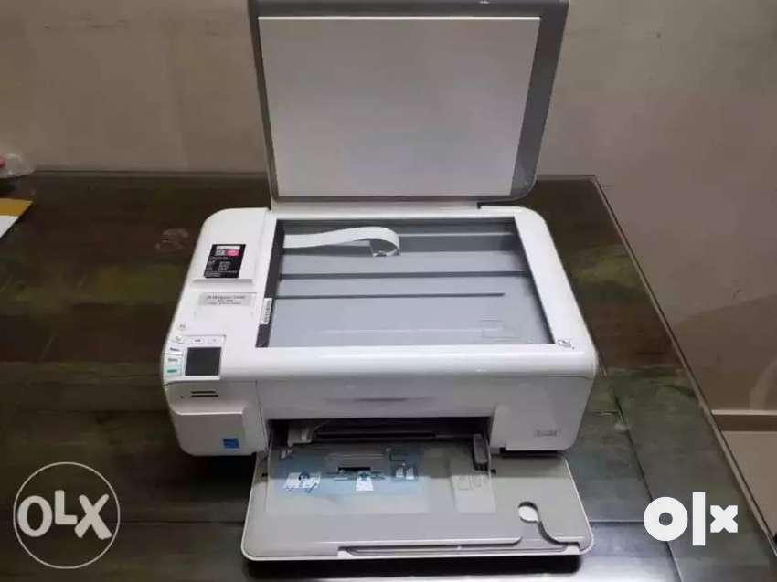 Hp C4400 series inkjet photo printer 0