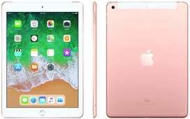iPad 6Th Gen Rose Gold 32GB/ WiFi With Bill Box Accesories/ warranty