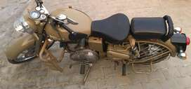 Bullet Khaki, 500cc, 21000km, Rs.99000. Very Good Condition.