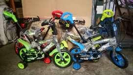 Sepeda BMX 12 inch Merk Tango Eva Dorongan
