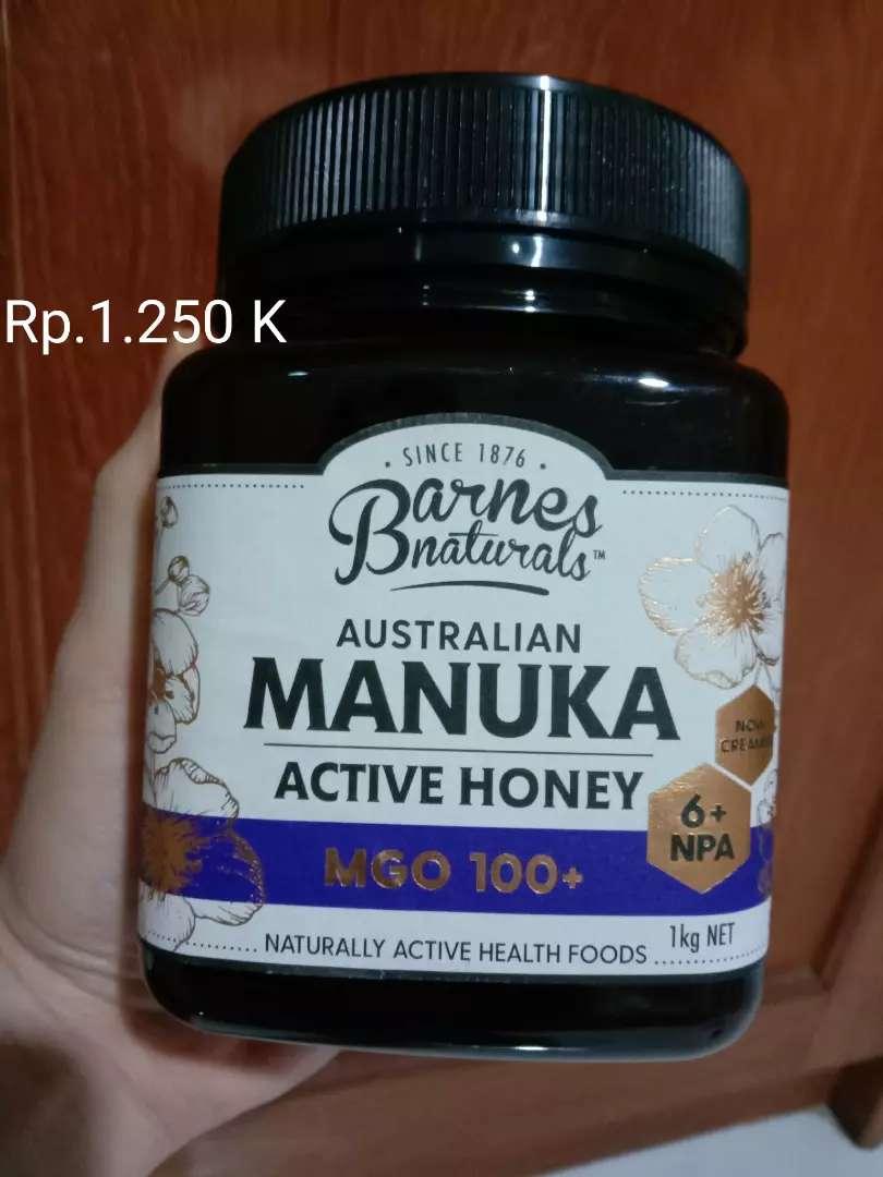 Murah & asli Barnes Manuka 1kg MGO 100+ (NPA 6+)