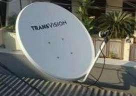 Super murah Transvision resmi Lombok promo murah free instalasi
