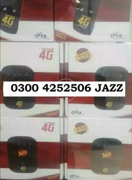 Mobilink Jazz 4G Wifi Wingle and Cloud Devices Available