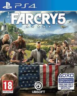 Blueray Disk Far Cry 5 ps4