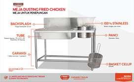 Meja Dusting Stainless Steel Meja Penepungan Ayam Di Gunungkidul