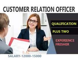 Customer rilation officer