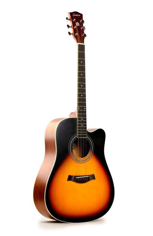 Acoustic Guitar beanded 41 inch new 0