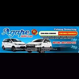Agape Rent Car ( Sewa Mobil Purwokerto Murah Meriah )