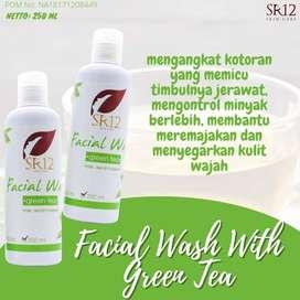 Bisa COD! Facial Wash With Green Tea 250ml SR12