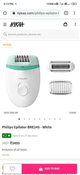 Philips women trimmer