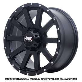 VELG OFFROAD RING 17 BUAT HILUX PAJERO DLL