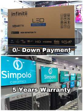 """Infinitii 40"""" UHD 4K Smart Android Led Tv - 5 Years Warranty"""