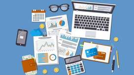 Part time accounting with management