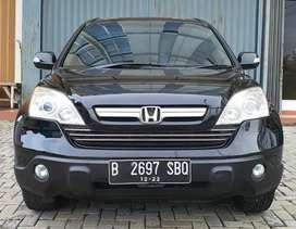 Honda CRV 2.4 IVTEC (Tipe Tertinggi) 2400 CC AT 2007, Full Original