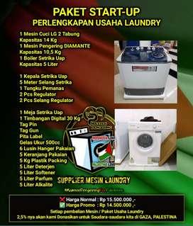 Paket Lengkap Peralatan Laundry
