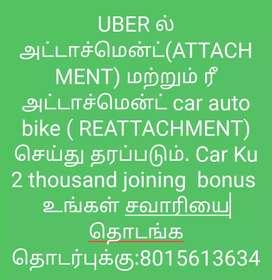car auto bike taxi moto attachment uber