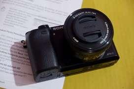 Kamera Sony alpha 6000 black