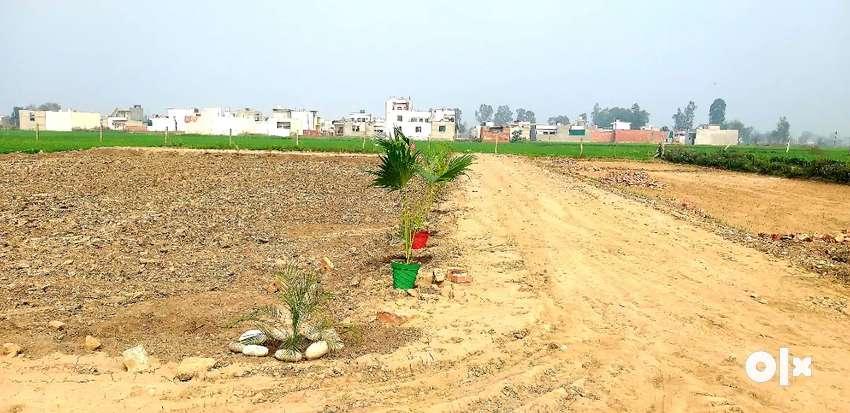 Rate:2950/- rupees per gaj plots for sale,  100 gaj plot for sale  .