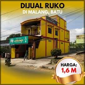 Ruko Restaurant 3 lantai full bangunan di kota malang