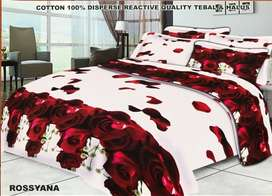 Bed Cover Homemade Katun Halus
