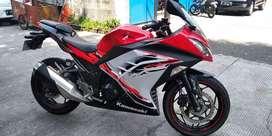 Kawasaki ninja 250Fi ABS SE Tahun 2013,,Super Gres KM Low 13 Ribuan