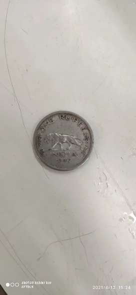 1 rupees 1947