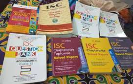 ISC QUESTION BANK SET OF 8 @ just rs 800
