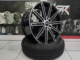 Menjual velg racing Mitsubishi Xpander Exceed Ring 18 HSR NE10