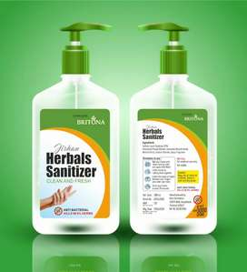 Hand sanitizer 500 ml @133including gst (MRP250)