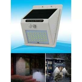 Lampu Taman 40LED Tenaga Surya dgn Sensor & Waterproof