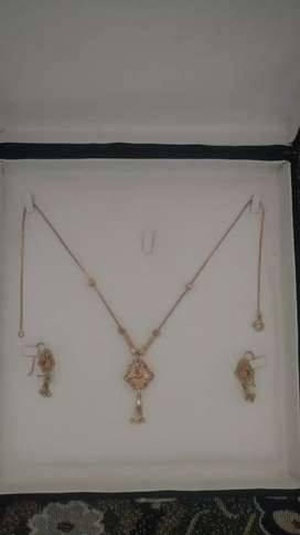 Bridal gold complete set 3.5 tolly
