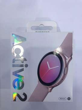 Samsung galaxy watch active2 40mm aluminium