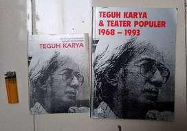 Buku Teguh Karya dan Teater populer atau buku perfilman indonesia