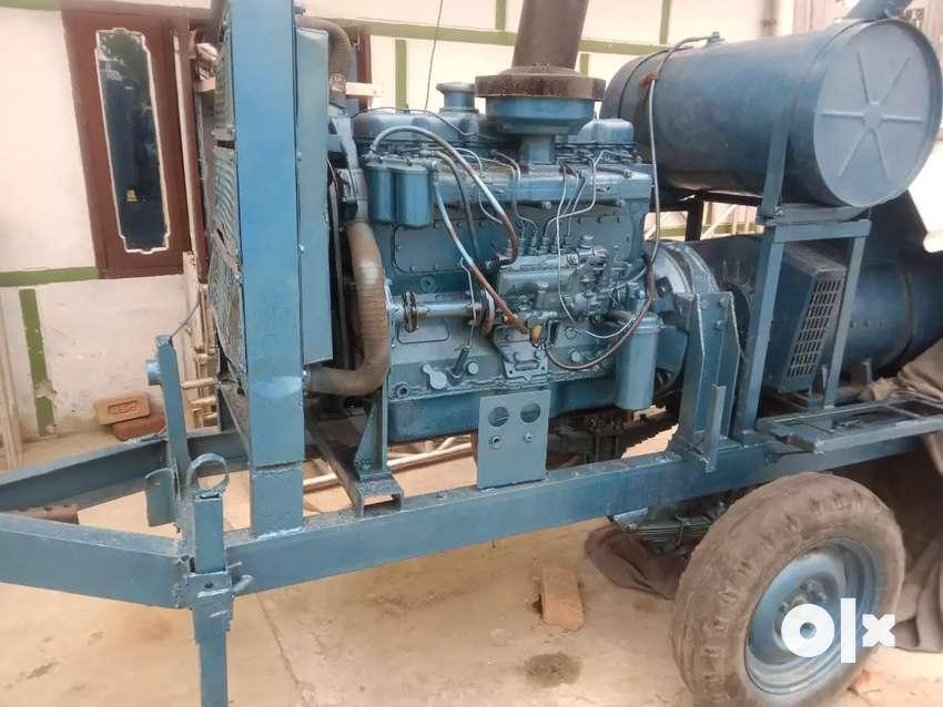 Generator set Leyland engine.  At Ghaluwal 0