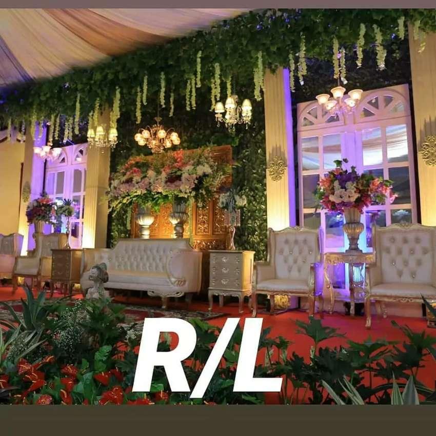 Lampu Hias Gantung Kristal Antik Dekorasi wedding 0