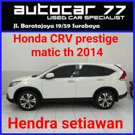 Honda CRV prestige 2.4 tahun 2014