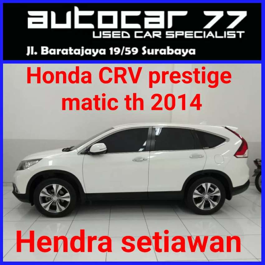 Honda CRV prestige 2.4 tahun 2014 0