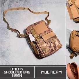 Tas Slempang Utility Shoulder Bag (6025) Multicam