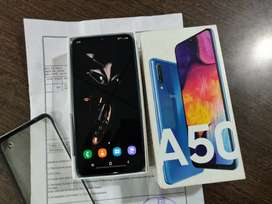 Samsung Galaxy A50 6gb Ram 64gb Rom 6 month old with full kit and bill